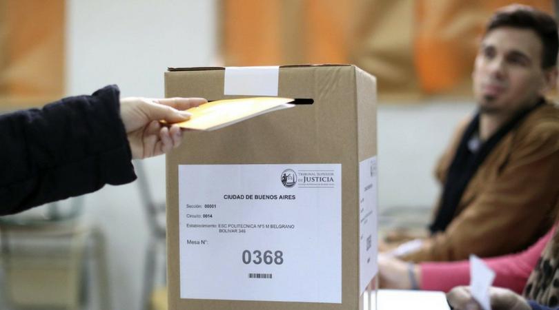 votar en argentina