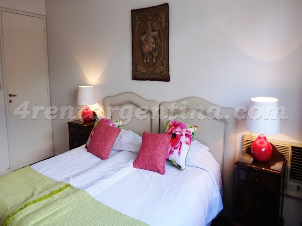 Juncal and Talcahuano: Apartment for rent in Recoleta