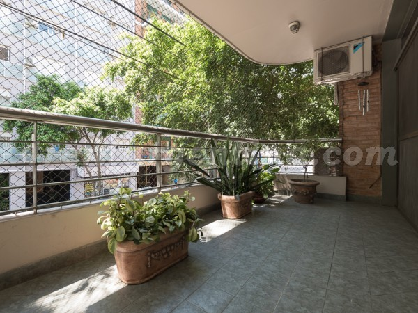 Austria et French I: Furnished apartment in Recoleta
