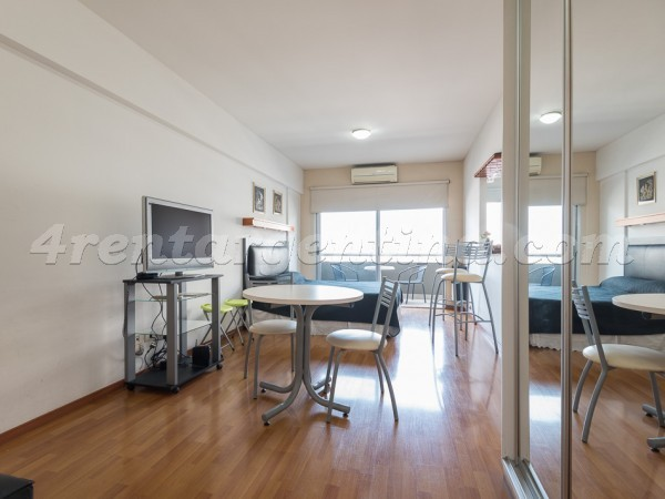 Corrientes and Gascon IV, apartment fully equipped