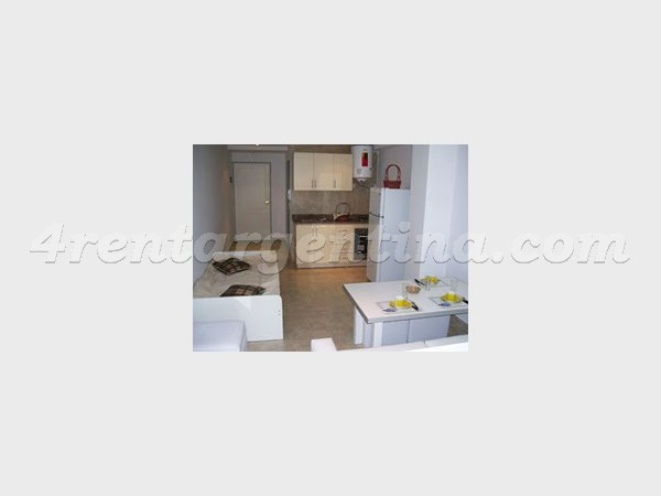 Corrientes and Concepcion Arenal II, apartment fully equipped