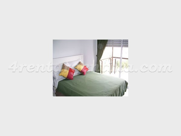 Corrientes and Concepcion Arenal II: Furnished apartment in Colegiales