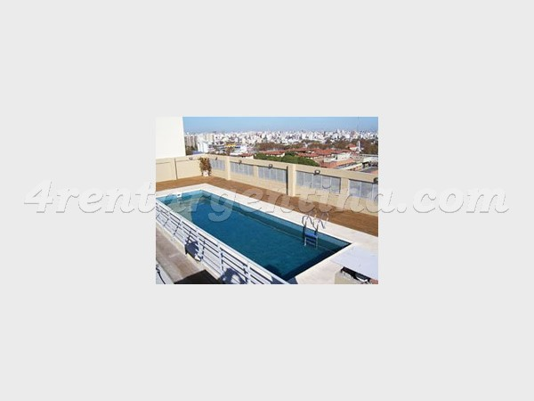 Corrientes and Concepcion Arenal II: Apartment for rent in Colegiales
