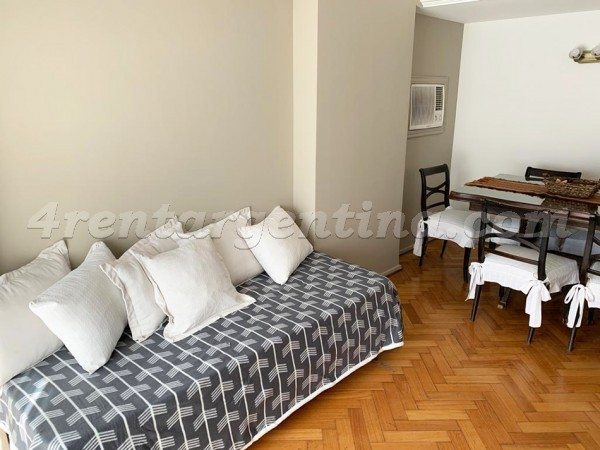 Uruguay et Corrientes I, apartment fully equipped