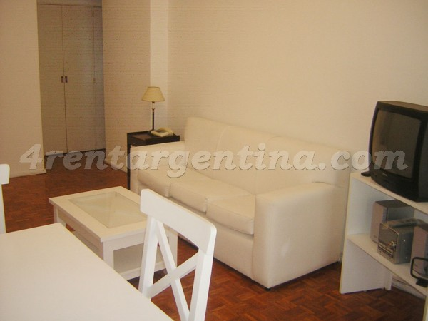 Virrey del Pino and Amenabar: Furnished apartment in Belgrano