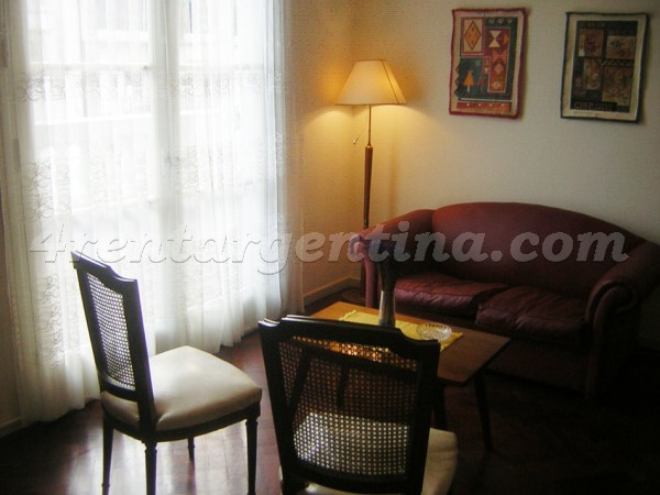 Uriburu and Corrientes: Apartment for rent in Buenos Aires