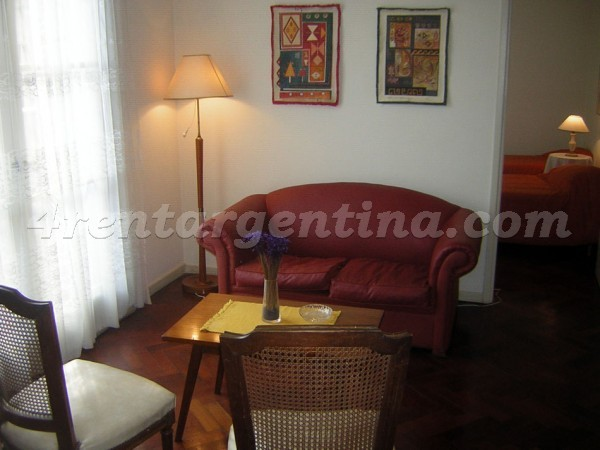 Uriburu and Corrientes: Apartment for rent in Downtown