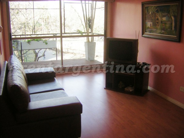 Defensa and Caseros: Furnished apartment in San Telmo