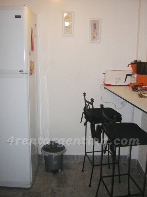 Azcuenaga et Las Heras IV: Furnished apartment in Recoleta