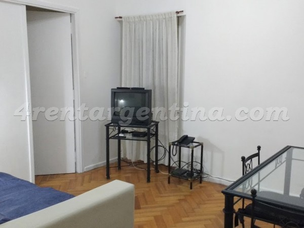 Azcuenaga et Las Heras IV: Apartment for rent in Recoleta