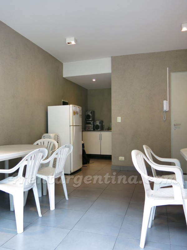 Soler and Dorrego: Furnished apartment in Palermo