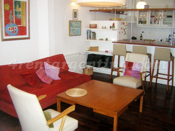 Concepcion Arenal and Cordoba, apartment fully equipped