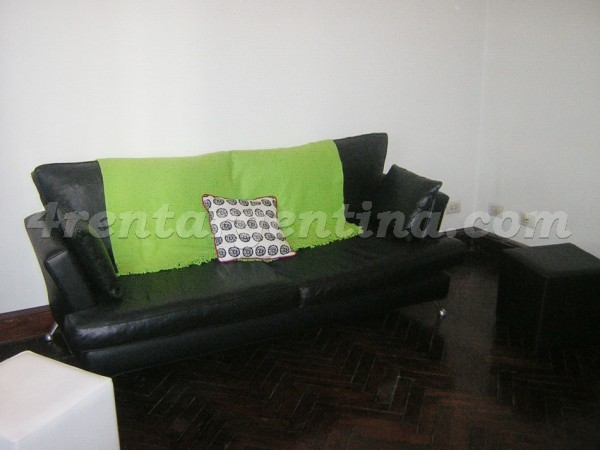 Paraguay et Larrea, apartment fully equipped