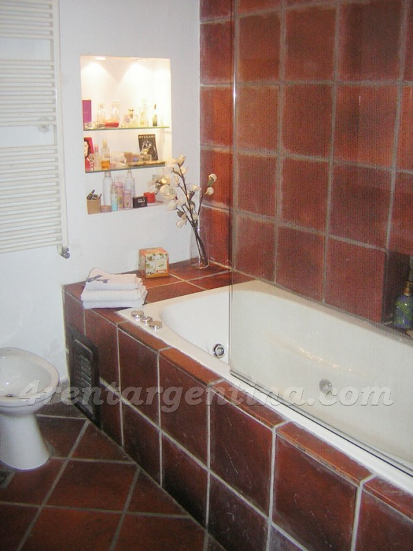 Paraguay et Larrea: Furnished apartment in Palermo