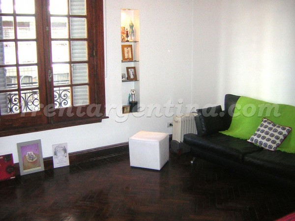 Paraguay and Larrea, apartment fully equipped