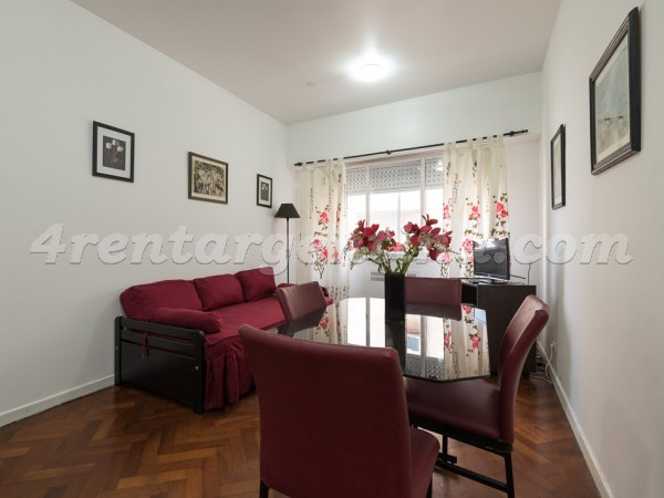 Apartment Corrientes and Suipacha I - 4rentargentina