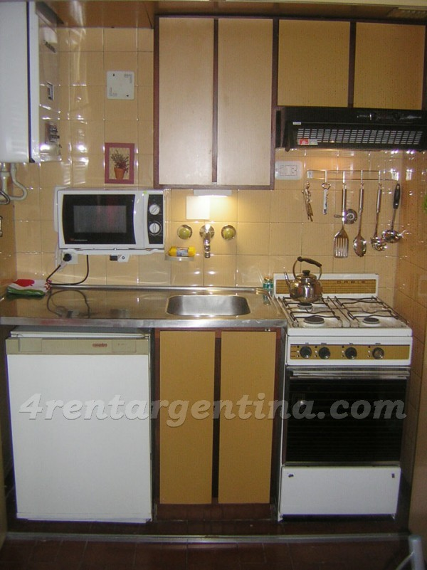 Viamonte and Suipacha: Apartment for rent in Downtown