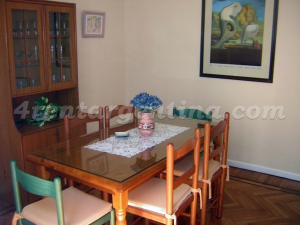 Guemes and Virasoro: Apartment for rent in Palermo