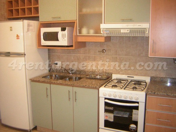 Libertad and Corrientes I: Furnished apartment in Downtown