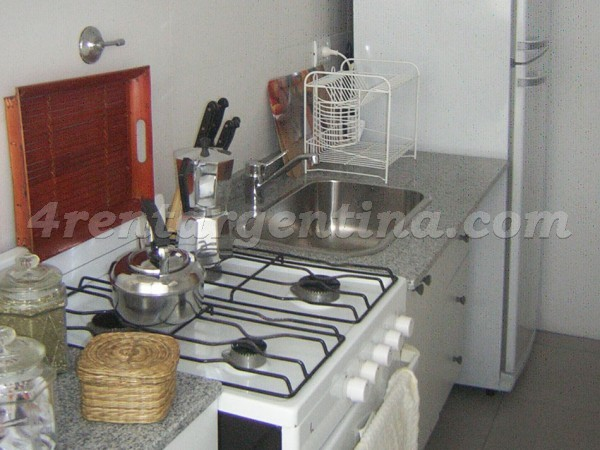 Billinghurst and Juncal II: Apartment for rent in Palermo