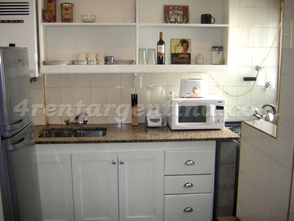 Ciudad de la Paz and Mendoza: Apartment for rent in Belgrano