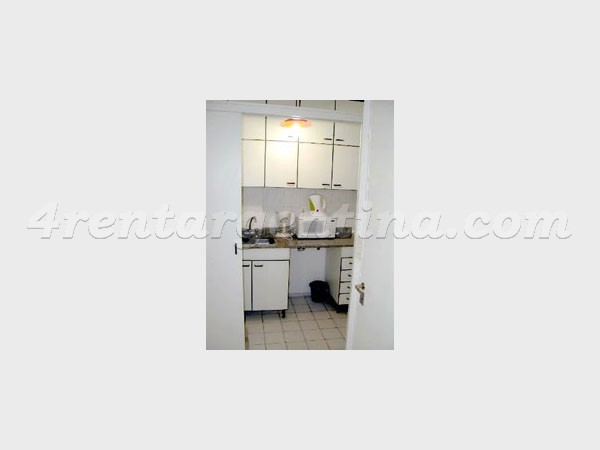 Bulnes and Corrientes IV, apartment fully equipped