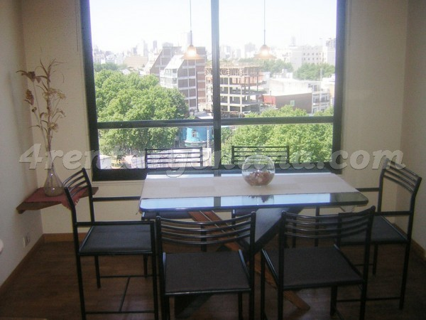 Forest et Alvarez Thomas II: Furnished apartment in Colegiales