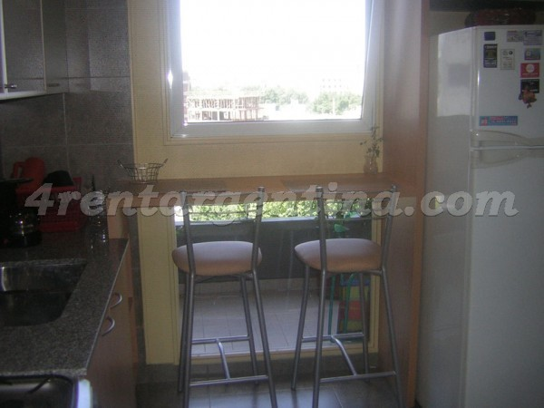 Forest and Alvarez Thomas II: Furnished apartment in Colegiales