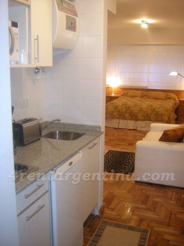 Uriburu and Santa Fe IV: Apartment for rent in Buenos Aires