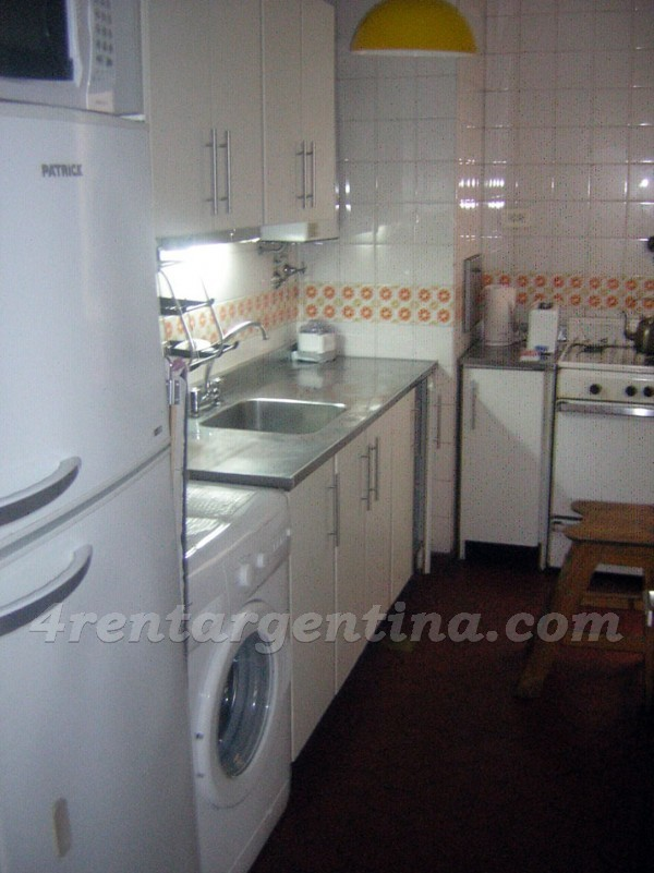 Arce and Jorge Newbery: Apartment for rent in Las Ca�itas