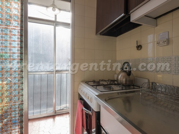 Malabia and Guemes III: Apartment for rent in Palermo
