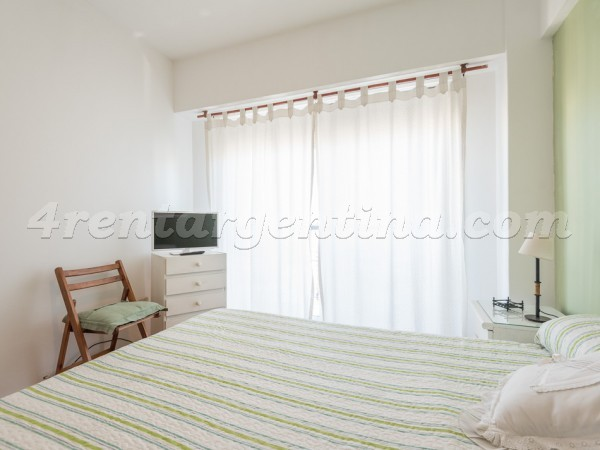 Lambare and Corrientes: Furnished apartment in Almagro