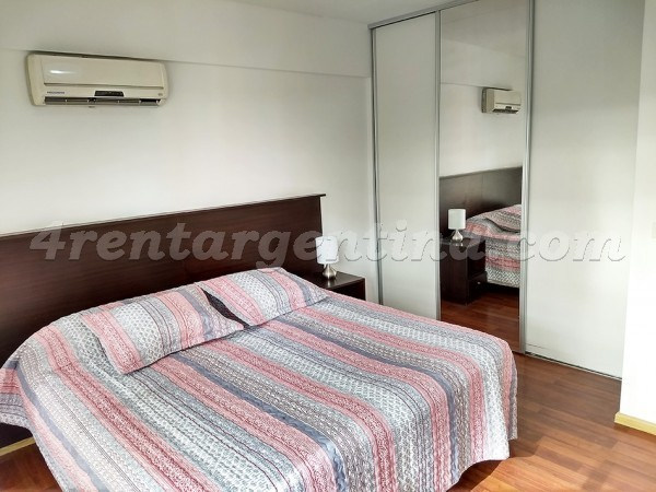 Cossettini and Ezcurra IV: Furnished apartment in Puerto Madero