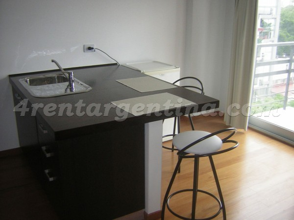 Soldado de la Independencia and Federico Lacroze, apartment fully equipped