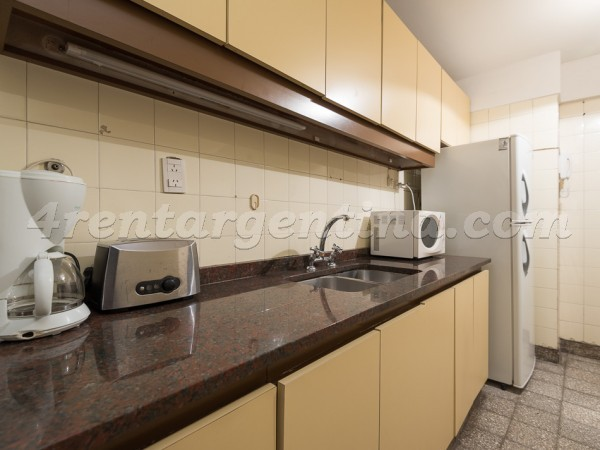 Charcas and Coronel Diaz II: Apartment for rent in Palermo