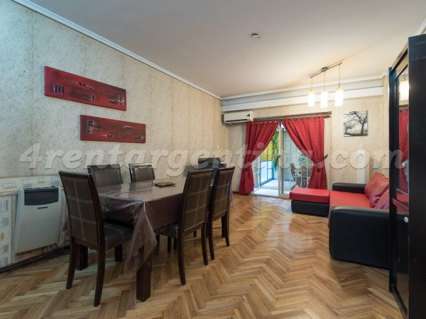Charcas and Coronel Diaz II: Apartment for rent in Buenos Aires