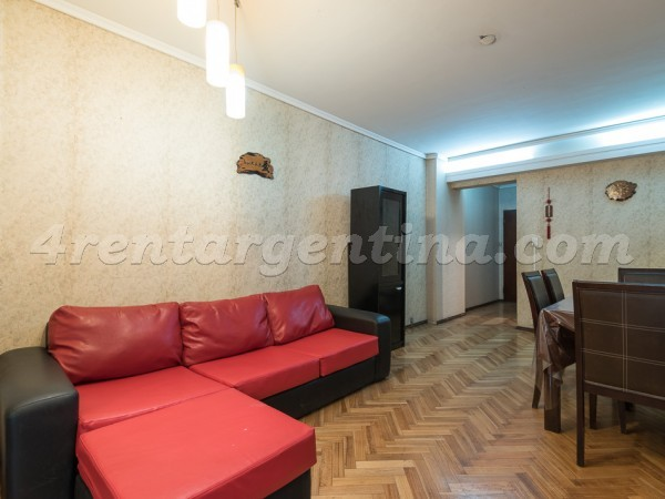 Charcas et Coronel Diaz II: Apartment for rent in Palermo
