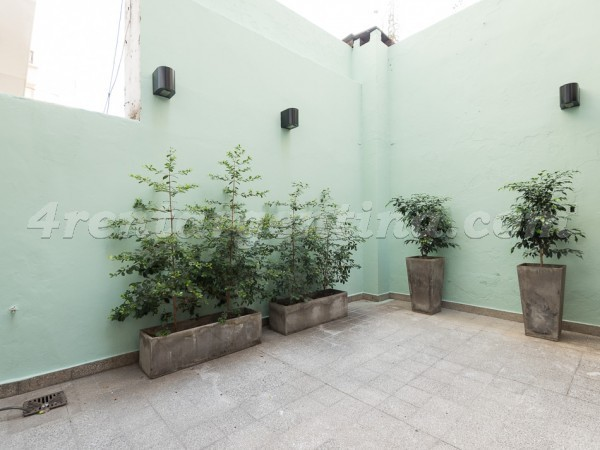 Charcas and Coronel Diaz II, apartment fully equipped