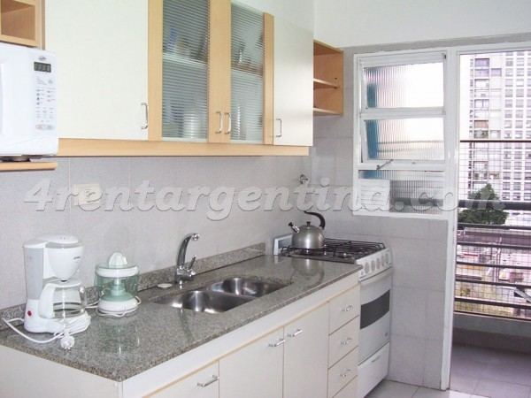 Juncal and Godoy Cruz I: Furnished apartment in Palermo