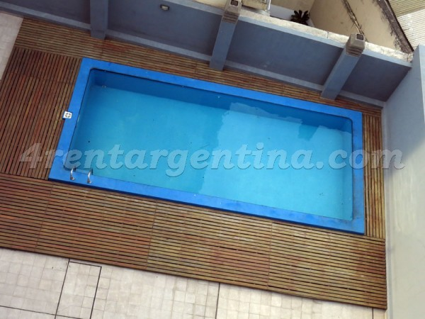 Palestina and Cordoba I: Furnished apartment in Palermo