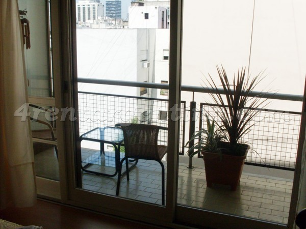 Santa Fe and Suipacha II: Furnished apartment in Downtown