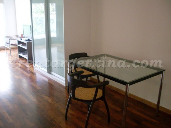 Larrea and Beruti I, apartment fully equipped