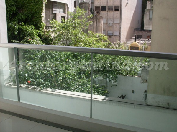 Larrea and Beruti I: Furnished apartment in Recoleta