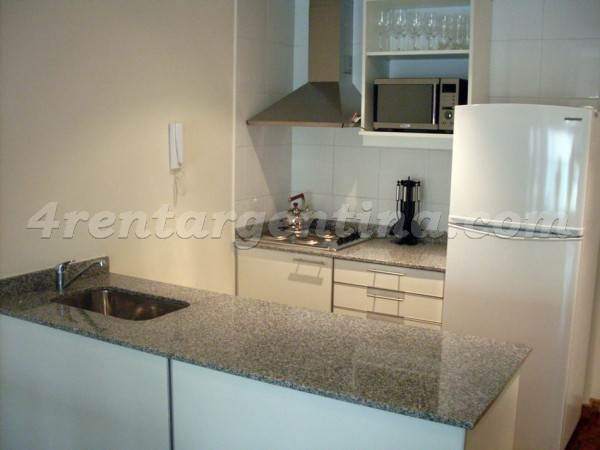 Larrea and Beruti I: Apartment for rent in Recoleta