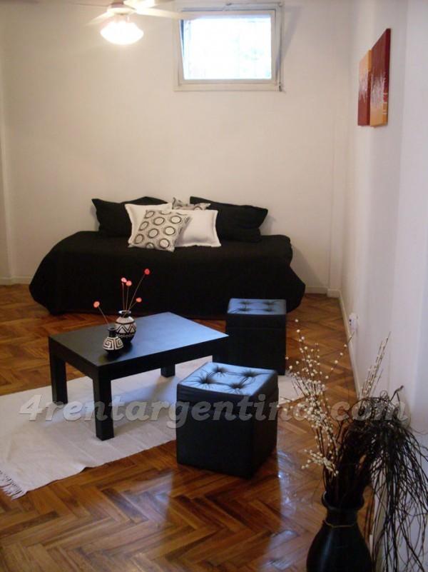 Soldado de la Independencia and Olleros I: Furnished apartment in Las Ca�itas