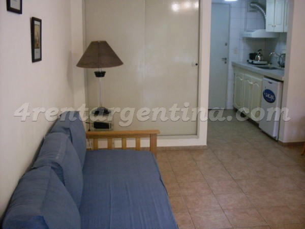 Corrientes and Ayacucho I: Furnished apartment in Downtown