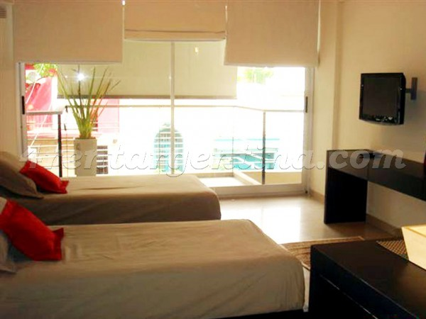 Carranza and Nicaragua: Furnished apartment in Palermo