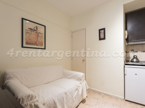 Pacheco de Melo and Ayacucho II: Furnished apartment in Recoleta