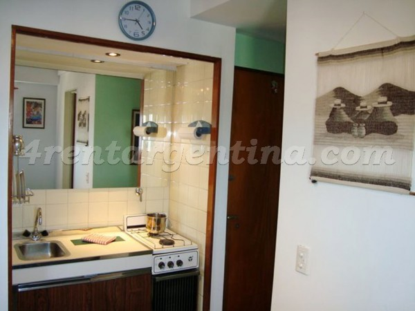 Talcahuano and Corrientes: Apartment for rent in Buenos Aires