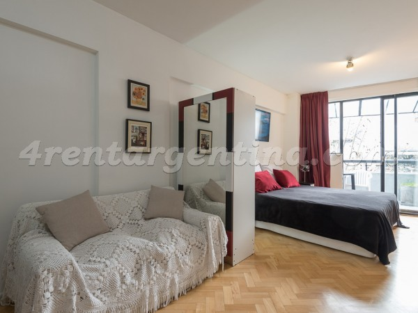 Sinclair et Cervi�o I: Furnished apartment in Palermo